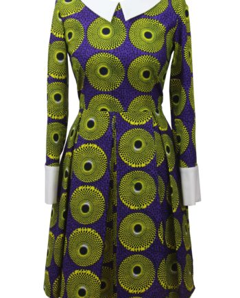 Taye-africanprints-dress-peterpancollar-ubrania-afrykanskie-moda-w-warszawa-skleponline-zakupyonline-greenandwhite-dress4